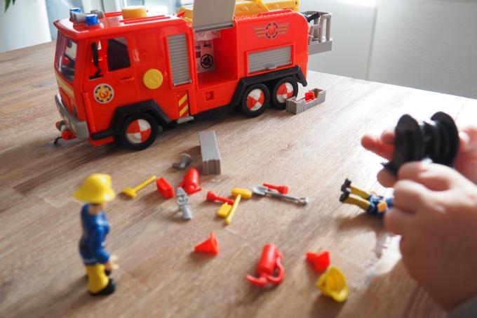 Feuerwehrmann Sam Jupiter Toms Gelandewagen Sardoe