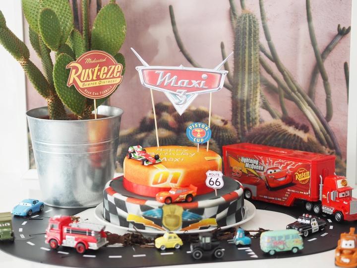 Maxi ist 3 !!! Cars Geburtstagsparty zusammen mit Lightning McQueen